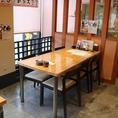 テーブル席 ※4名様席と組み合わせて10名様までご利用頂けます。