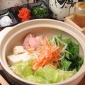 料理メニュー写真大山鶏の博多水炊き ※二人前からの注文