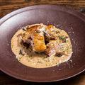 料理メニュー写真大山鶏のグリル ポルチーニクリームソース