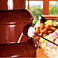 料理メニュー写真【チョコレートフォンデュ】