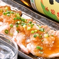 料理メニュー写真三元豚おろしポン酢