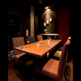 6名様のテーブル席