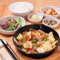 料理メニュー写真カルメギ定食