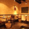 広々とした空間は、様々な利用シーンでお楽しみいただけます。シュラスコが初めての方・お好きな方!当店でブラジル料理をお楽しみください!