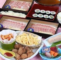 つゆ豚しゃぶコースは4000円(税込)~