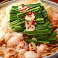 料理メニュー写真博多もつ鍋(醤油・塩・味噌・豚骨)