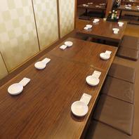 人数に応じて大中小宴会空間をご用意させて頂きます。