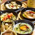 料理メニュー写真タラート自慢のアヒージョ6種類!