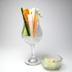 料理メニュー写真野菜スティック