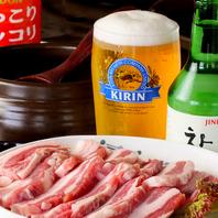 サムギョプサルやスンドゥブチゲ等韓国料理が気軽に♪