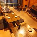 【5階】最大40名様でご利用頂ける宴会場。