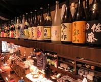 九州日本酒・焼酎の豊富!料理もお酒もこだわって仕入れ