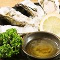料理メニュー写真生牡蠣(兵庫県室津産)