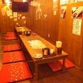 最大24名 仲良しで30名宴会☆浦和の焼き鳥居酒屋でゆっくり飲み放題がおすすめ!掘りごたつ・座敷・個室もご用意できます。