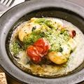 料理メニュー写真【新Menu】 ナスとエビのファルシ