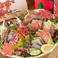 新鮮なお刺身をいただけるのも、『彩』の魅力の一つ♪仕入れによって、旬の鮮魚が加わります!お酒のお供に、ぜひお召し上がり下さい!