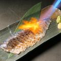 料理メニュー写真金華〆鯖の炙り