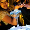 【シャンパンタワー演出も体験】 シャッターチャンス満載のキラキラ光るシャンパンタワーをご用意しています。記憶に残る感動の演出で特別な1日に!新郎新婦様だけでなくゲストも楽しめるパーティを手掛けます。