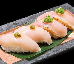 鶏寿司(4貫)
