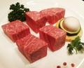 料理メニュー写真和牛キューブヒレ