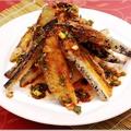 料理メニュー写真揚げ茄子のソースかけ/ナスの中国味噌炒め/四川マーボー豆腐/キクラゲの炒め