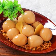 料理メニュー写真うずら卵のスモーク・アロハ醤油漬け
