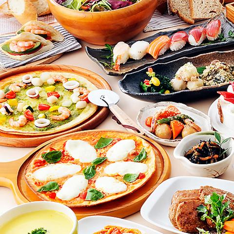 バラエティ豊かなイタリアンがランチ1349円税抜~、ディナー1799円税抜~で食べ放題