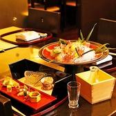 日本料理歴の長い料理人が彩る、味はもちろん目にも美しいお料理がさらに場を盛り上げます