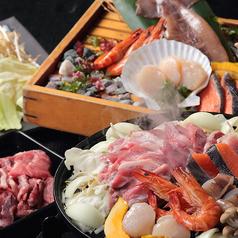 料理メニュー写真ジンギスカンと海鮮焼き食べ放題(100分)