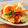 料理メニュー写真半熟玉子のBBQポテトサラダ