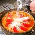 料理メニュー写真赤から特製トマチー鍋♪<1人前>
