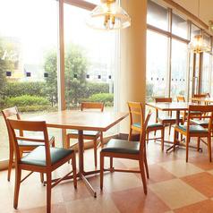 開放感あふれるテーブル席☆