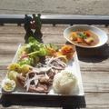 料理メニュー写真ジャンボステーキセット250g