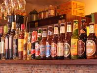 オーナー厳選したアジアンビールを豊富に品揃え!