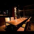10名様のテーブル席(一例)