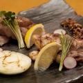 料理メニュー写真厚切り黒豚のグリル