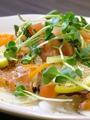 料理メニュー写真旬の魚貝のカルパッチョ