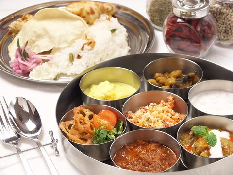 【ヘルシー×南インド料理】 化学調味料なし!添加物なし!本場インド料理の味わい♪