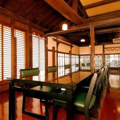 テーブル個室、お座敷個室、掘りごたつ個室など個室は多彩。