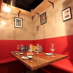 ちょっとした接待や会食にも最適な個室