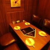 こちらは別館のテーブル席個室です!