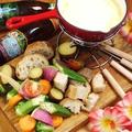 料理メニュー写真ズワイガニのグラタンチーズフォンデュ