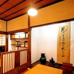 落ち着いた雰囲気の個室は接待、会食、ご家族行事に。