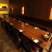 洋風のお部屋は、テーブルをつなげて貸切が可能!(最大14名様まで)