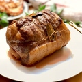 料理メニュー写真豚三枚肉の黒ビール煮込み