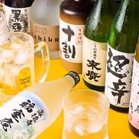 老舗の旨い蕎麦にはプレミアム焼酎◆日本酒と一緒に。