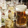 五苑はいつでもお酒が安い!生ビール(中)が290円!美味しい焼きたてお肉に冷たいビールが進みます!