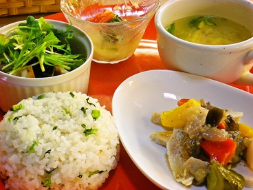 TEA GARDEN 森のめぐみのおすすめ料理1