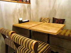 稼働可能なテーブル席
