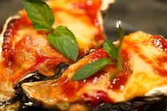 料理メニュー写真トマトチリチーズ焼き/ねぎ味噌焼き/ペペロンチーノ焼き/プレーンバター醤油
